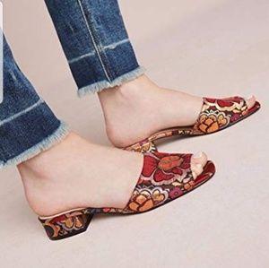 Shellys of London Brocade Ria Sandal Sz. 39